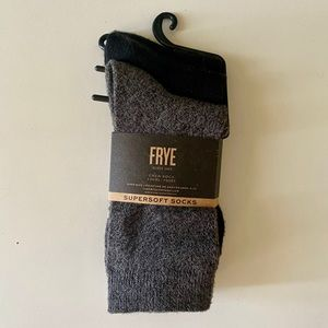 FRYE Supersoft crew socks Size 5-10